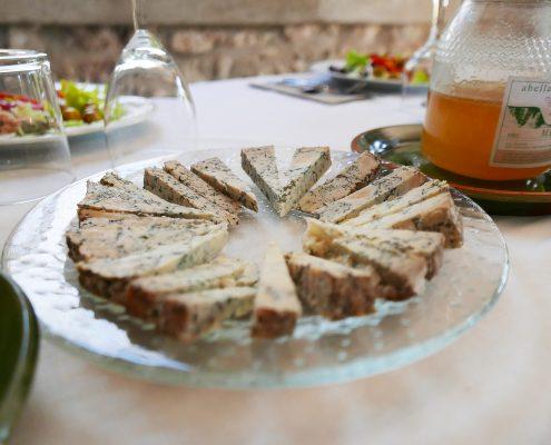 Degustació, formatge blau, blau d'osona